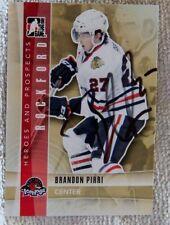 Chicago Blackhawks Brandon Pirri Signed 11/12 ITG H&P Rockford IceHogs Card