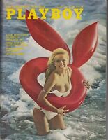 PLAYBOY MENS MAGAZINE AUGUST 1972 , Big Chested LINDA SUMMERS Centerfold /q7