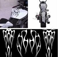Set of Decal Sticker Motorcycle Vehicle Gas Tank & Fender DIY Waterproof Decals