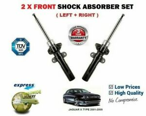 FRONT LEFT RIGHT SHOCK ABSORBERS for JAGUAR X TYPE 2.0 2.1 2.2 2.5 3.0 2001-2009