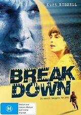 Breakdown (DVD, 2008) R4 PAL RARE OOP Kurt Russell VGC
