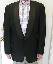 PIERRE BALMAIN Black Stylish 100% Pure wool Tuxedo Jacket size 41 L
