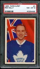 1963 Parkhurst #03 Red Kelly PSA 8 NM-MT