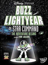 Buzz Lightyear of Star Command: The Adventure Begins (DVD, 2000)