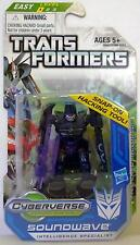 "SOUNDWAVE Transformers Prime Hub Animated Legion Class 3"" inch Figure #7 2012"