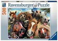500 Teile Ravensburger Puzzle Pferde Selfie 14763