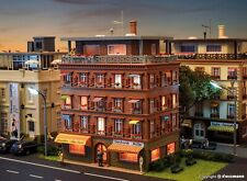 Vollmer 43611 - HO Penthouse with roof-deck HO 1:87 Scale Unassembled Kit