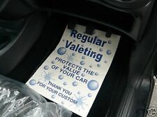 CAR VALETING PRODUCTS PRINTED PAPER FLOOR MATS X 200