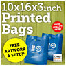 Plastic Carrier Bags   Small Strong Polythene Bag with Custom Personalised Print