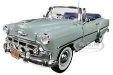 1953 CHEVROLET BEL AIR OPEN CONVERTIBLE HORIZON BLUE 1/18 DIECAST SUNSTAR 1625