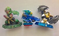 Skylanders Activision Action Figures Lot of 3 Master Ambush Master King Pen