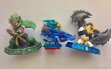 Skylanders Activision Action Figures Lot of 3 Master Ambush Master King Pen