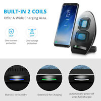 USB Wireless Qi Charger Pad Dock for iPhone 11 Pro Max/X/XS/XS Max/XR/8 Plus HYA