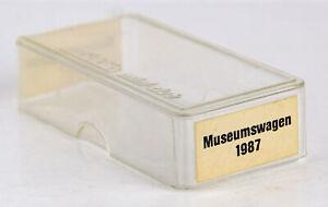 Vintage Marklin Mini-Club Museumswagen 1987 German Z Scale Empty Carrying Case