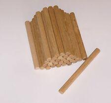 Posten 25 Stück Holzdübel in Eiche, Riffeldübel 16x180mm Holz Dübel NEU