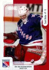 2001-02 Kitchener Rangers #4 Scott Dickie