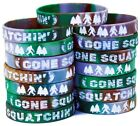 Bigfoot Party Favors - Camo Wristbands for Sasquatch Themed Parties - Pack of 15