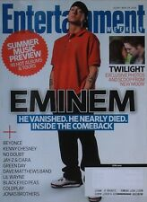EMINEM May 29, 2009 ENTERTAINMENT WEEKLY Magazine TWILIGHT / BEYONCE / GREEN DAY