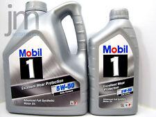 5 Liter Nachfolger MOBIL 1 PEAK LIFE 5W-50 Motoröl Neu FS X1 5W50 Rally Formula