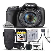 Canon PowerShot SX530 HS Wi-Fi/NFC Digital Camera +CASE +EXT BATT -16GB BUNDLE