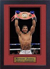 New JOSHUA V KLITSCHKO signed autographed Boxing Memorabilia Wembley London #005