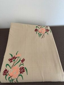 Hand Embroidered Bed Sheet