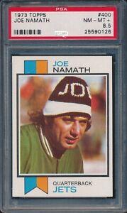 1973 Topps Football Joe Namath #400 PSA 8.5 JETS NM-MT+ HOF