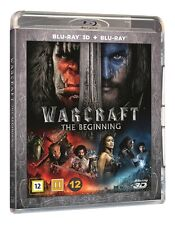 Warcraft The Beginning  3D + 2D (also includes IN-GAME Content) Blu Ray