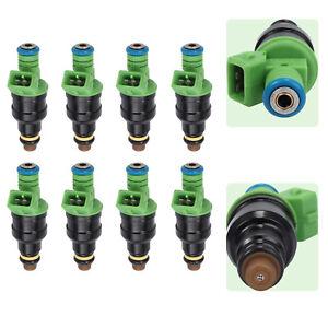 8PCS OEM 0280150558 0280155968 4 Hole Fuel Injectors For Ford  Chevrolet Pontiac