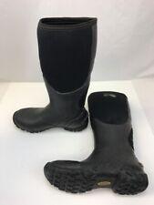 Irish Setter Men's Black Exoflex Pull-On Waterproof Rubber Boots Sz 7.5