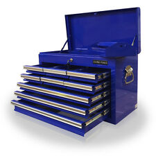 161 US Pro Tools Heavy Duty Tool Box Chest Blue 9 Drawers 10 Year Warranty