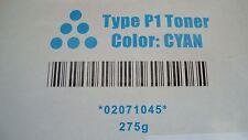 NEW Cyan Type P1 Toner cartridge for Ricoh, Savin, Gestentner, Lanier