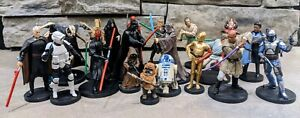 Disney Store Star Wars PVC Figures CAKE TOPPERS or BIRTHDAY PARTY FAVORS