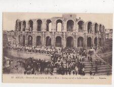 Arles Sortie d;une Course de Mise a Mort France [ND 83] Vintage Postcard 831a
