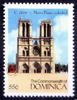 Notre Dame Cathedral Religion Architecture History Dominica MNH Millennium (R7n)