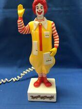 Vintage Ronald McDonald Telephone 1985