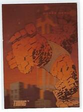 1992 Marvel Universe trading cards  Insert Foil chase card # H-2 THING.