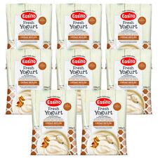 EasiYo Creme Brulee Yogurt Mix - Eight Sachet Pack