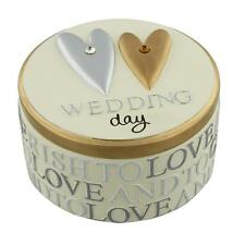 Wedding Day Resin Trinket Box WJ106WD