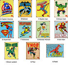 Vintage Marvel Collection Print Stickers Kids Room Wall Decor Art Mural Gift DIY