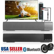 TV Sound Bar Home Theater Subwoofer Soundbar with Bluetooth Wireless 3-Color