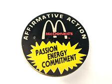 McDonald's Franchisee Pin Affirmative Action Vintage Hat / Lapel Restaurant