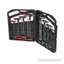 SILVERLINE 250028 T-Handle Wrench Set 16pce