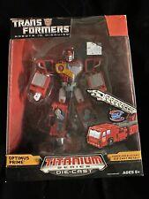 New listing Transformers Titanium Robots In Disguise Optimus Prime New Mib Die-Cast