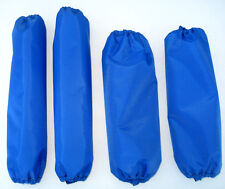 Shock Covers Yamaha Wolverine R-Spec EPS Blue ATV Set 4