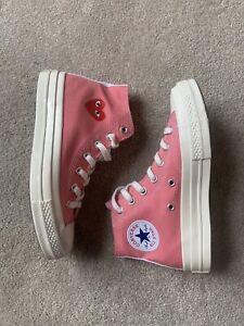 Comme Des Garçons Play x Converse Girls Women's Pink shoes High Top - UK 6.5