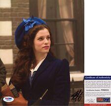 Jessica De Gouw Signed 8x10 Dracula Mina Murray Arrow PSA/DNA