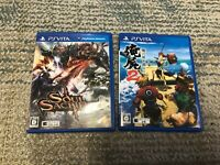 Soul Sacrifice , Ore no shikabane wo koete yuke 2 PS vita game 2 set from japan
