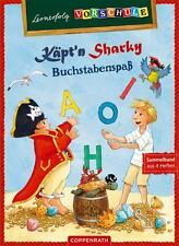 NEU Sammelband Lernerfolg Vorschule: Käpt'n Sharky: Buchstabenspaß Coppenrath