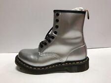 Dr Martens 1460 Womens Combat Boot Metallic US7 M EUR38